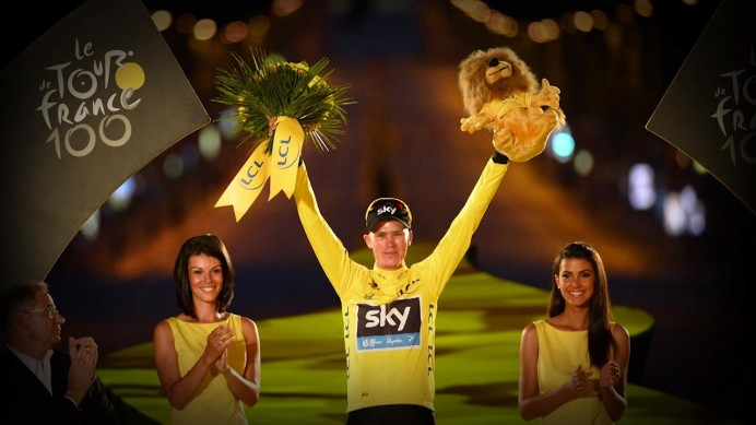 Video per Sidi e Chris Froome, vincitore del Tour de France 2013